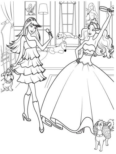 printable barbie family coloring pages barbie princess coloring pages embroidery pinterest barbie coloring printable family pages