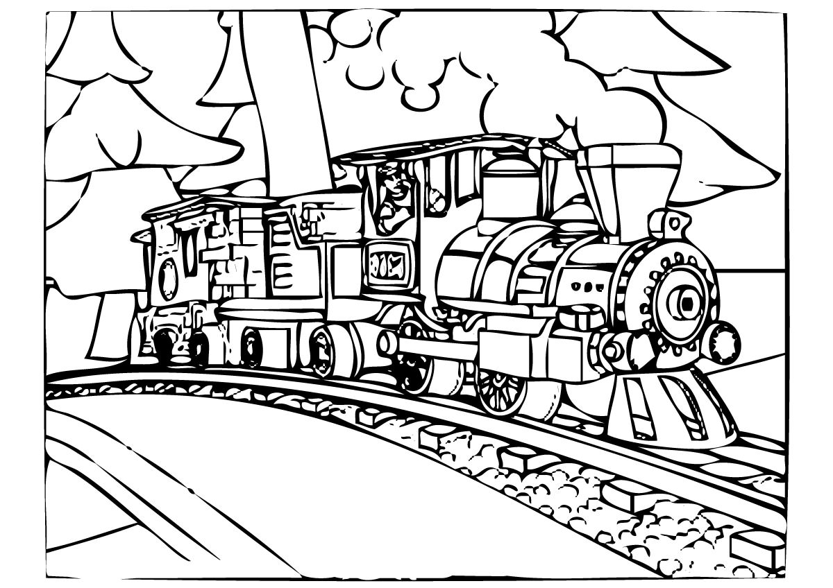 printable coloring pages trains coloring pages for kids printable 237678 transportation pages printable trains coloring