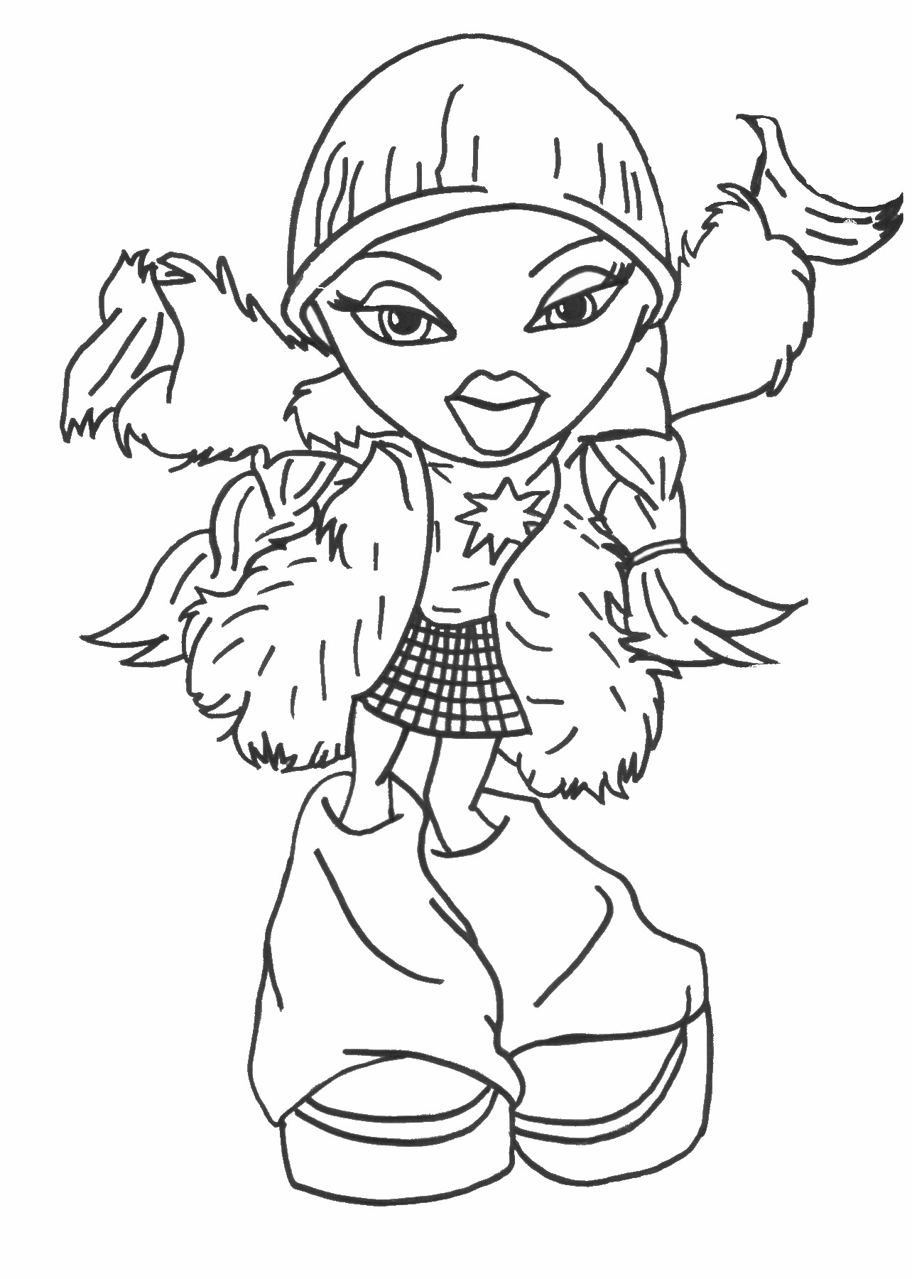 printable colouring pages bratz coloring pages pages colouring printable