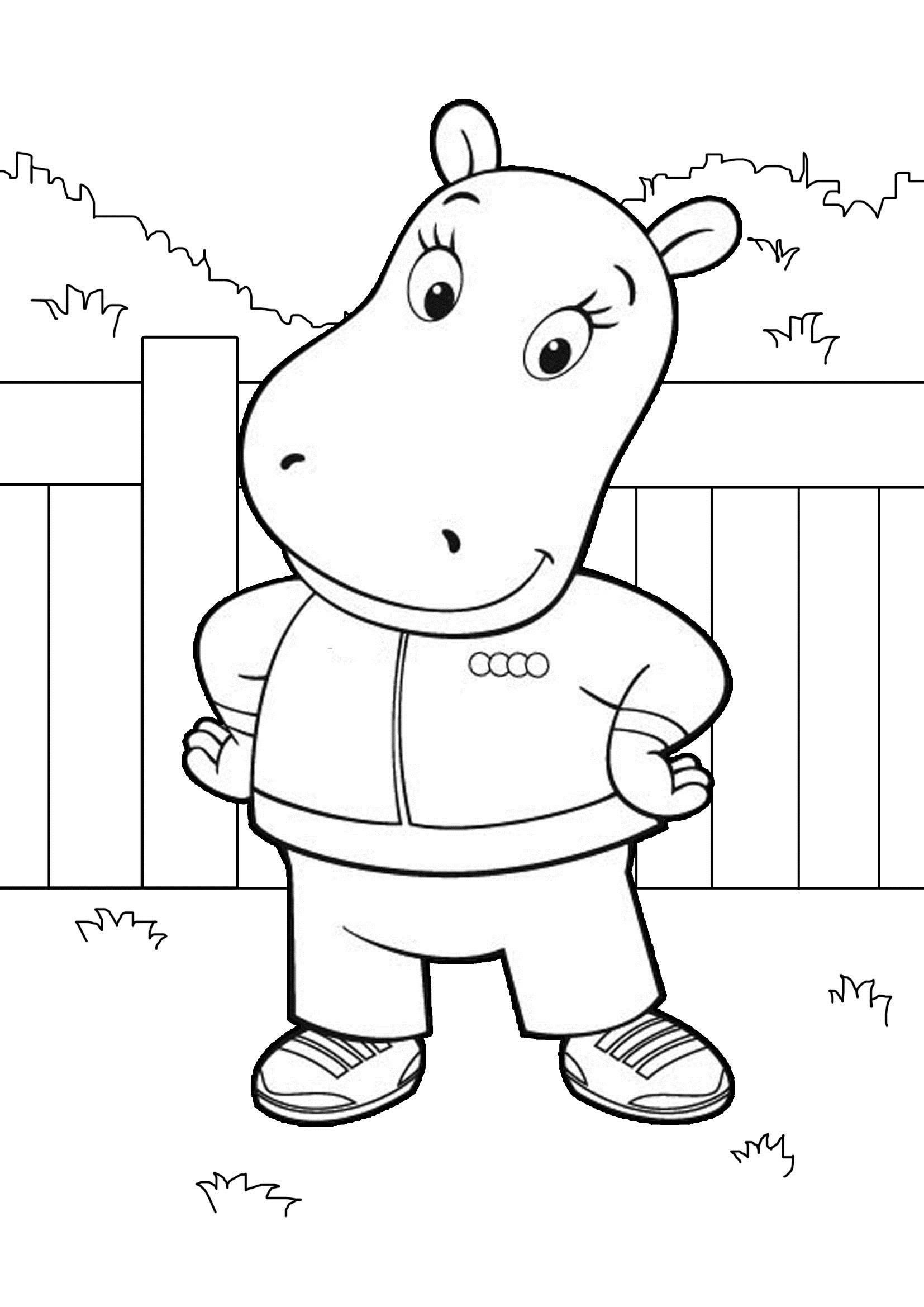 printable colouring pages free printable backyardigans coloring pages for kids printable colouring pages