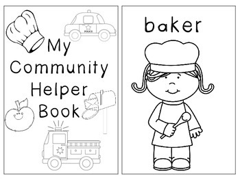 printable community coloring pages community helper coloring booklet by exploring in prek tpt printable coloring pages community