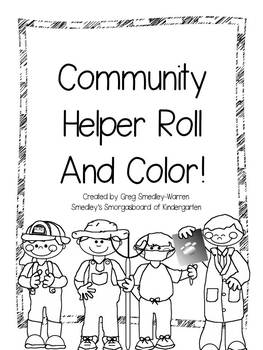 printable community coloring pages community helpers roll and color by kindergarten printable pages coloring community