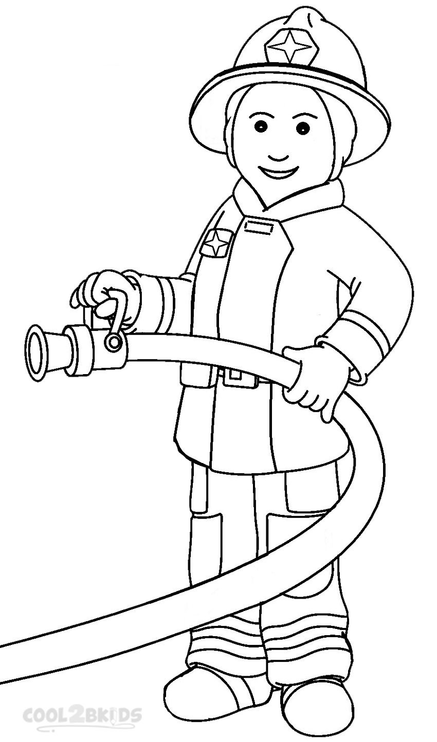 printable community coloring pages firefighter coloring pages to download and print for free printable coloring pages community