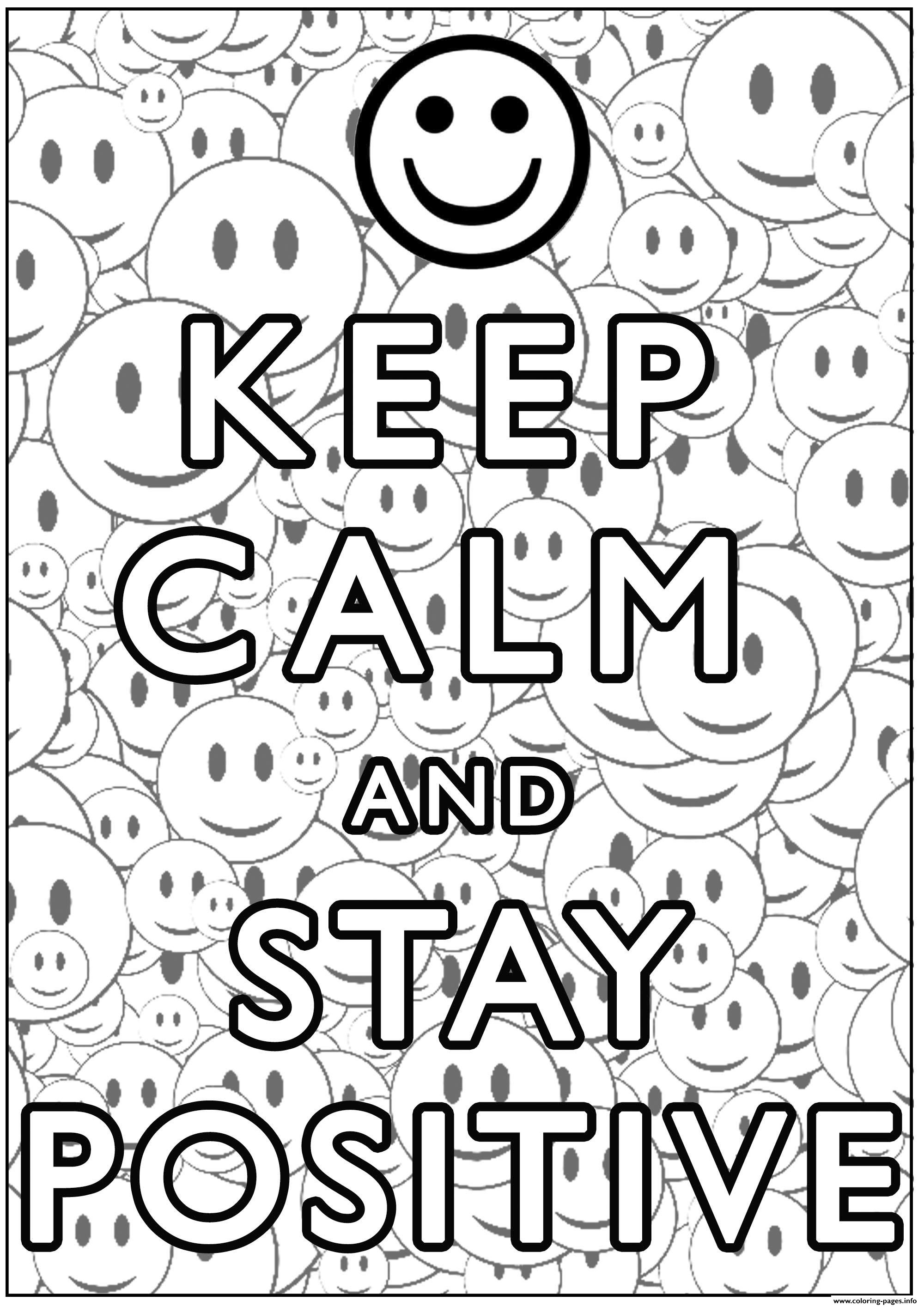 printable community coloring pages keep calm and stay positive coloring pages printable printable community pages coloring