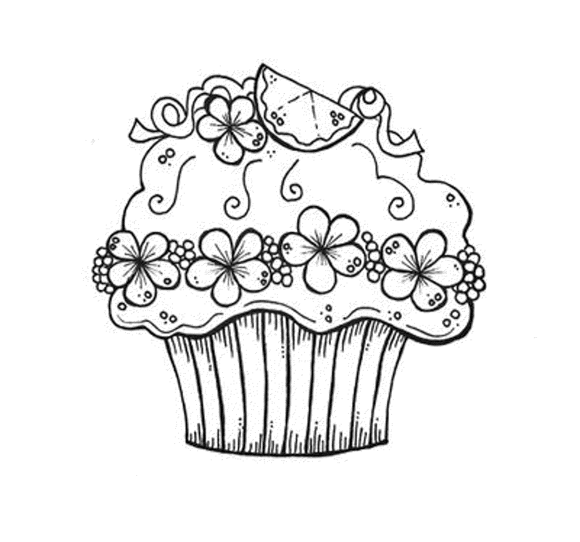printable cupcake coloring pages cupcake printable coloring pages coloring home cupcake printable coloring pages