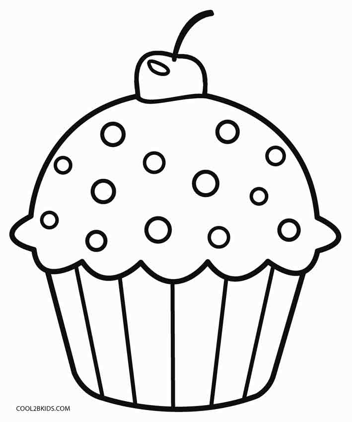 printable cupcake coloring pages free printable cupcake coloring pages for kids cool2bkids pages cupcake coloring printable