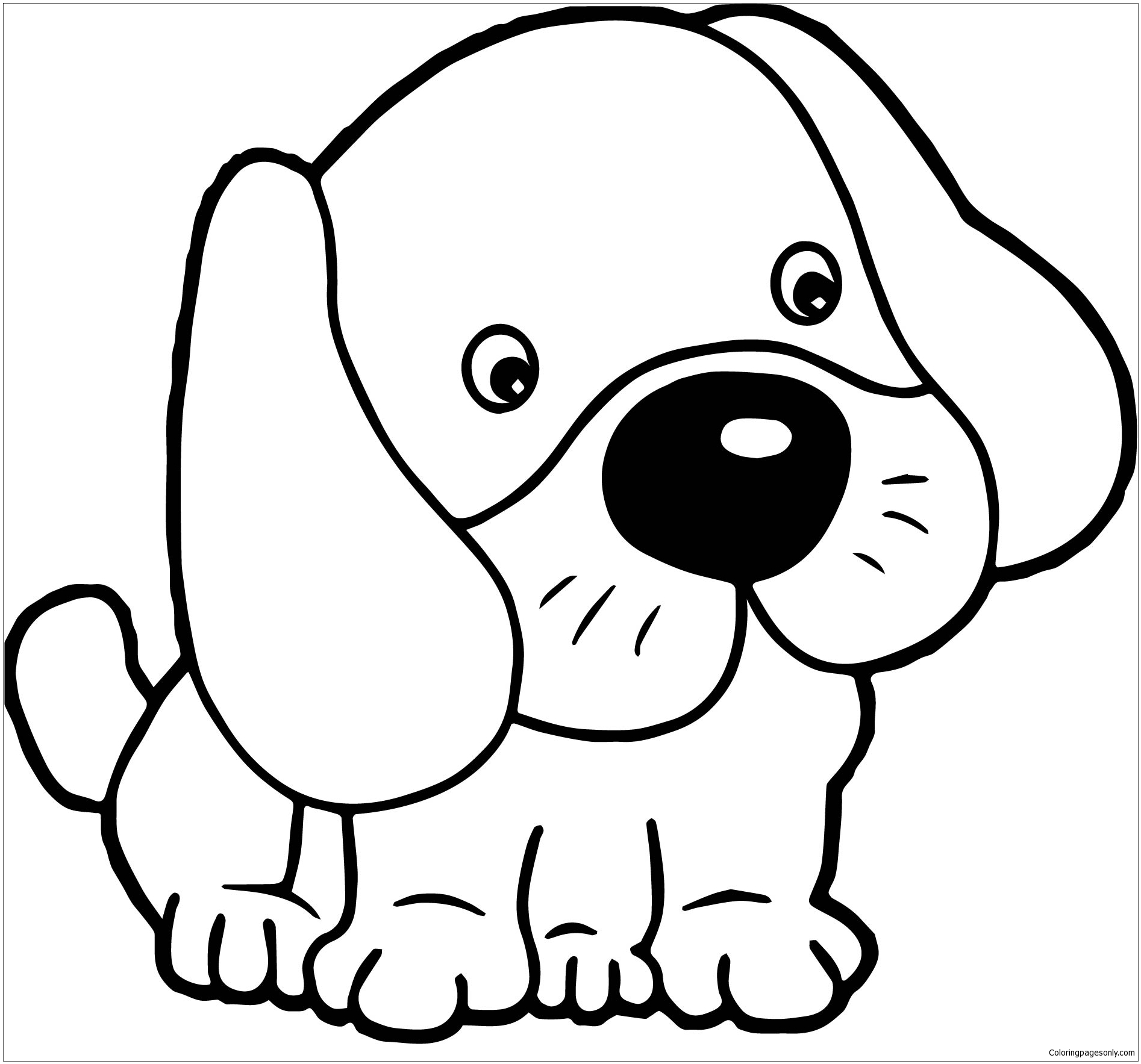 printable cute puppy coloring pages print download draw your own puppy coloring pages pages printable cute puppy coloring