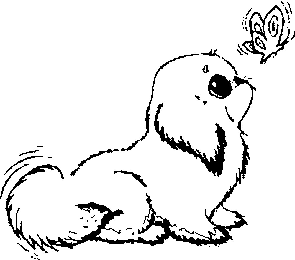 printable cute puppy coloring pages puppy love coloring pages at getcoloringscom free puppy pages cute coloring printable