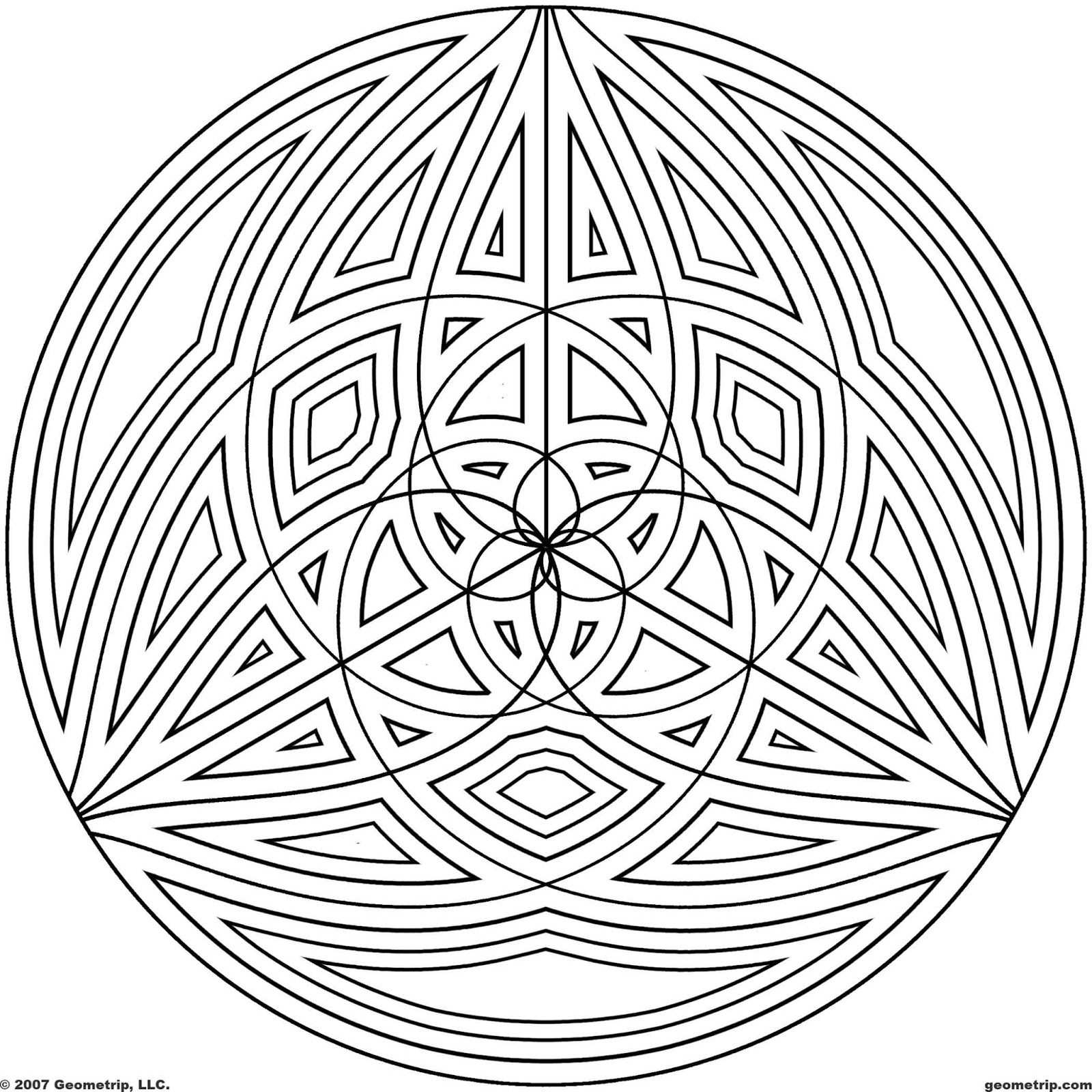 printable designs to color free printable geometric coloring pages for adults printable to color designs