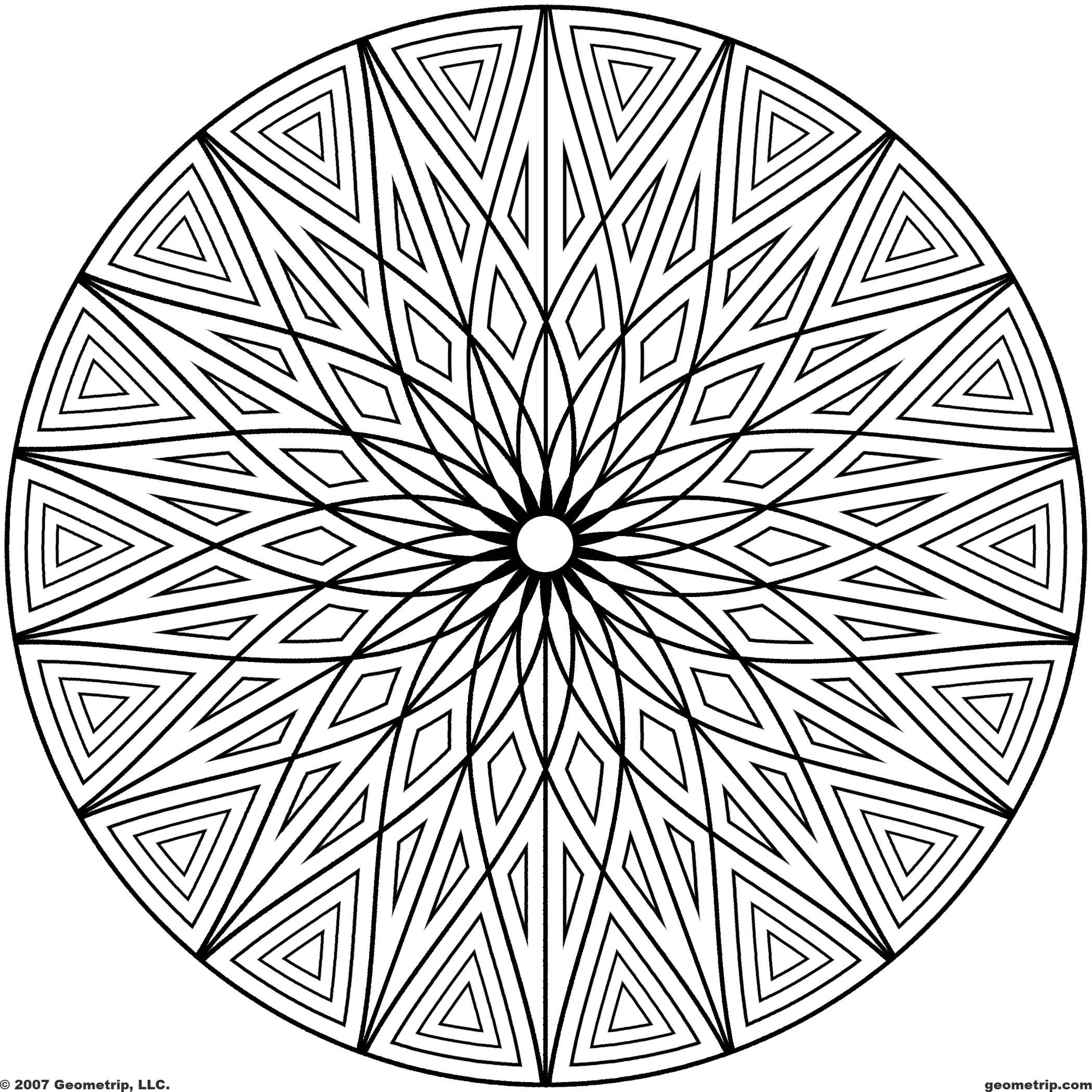 printable designs to color free printable geometric coloring pages for kids to designs printable color