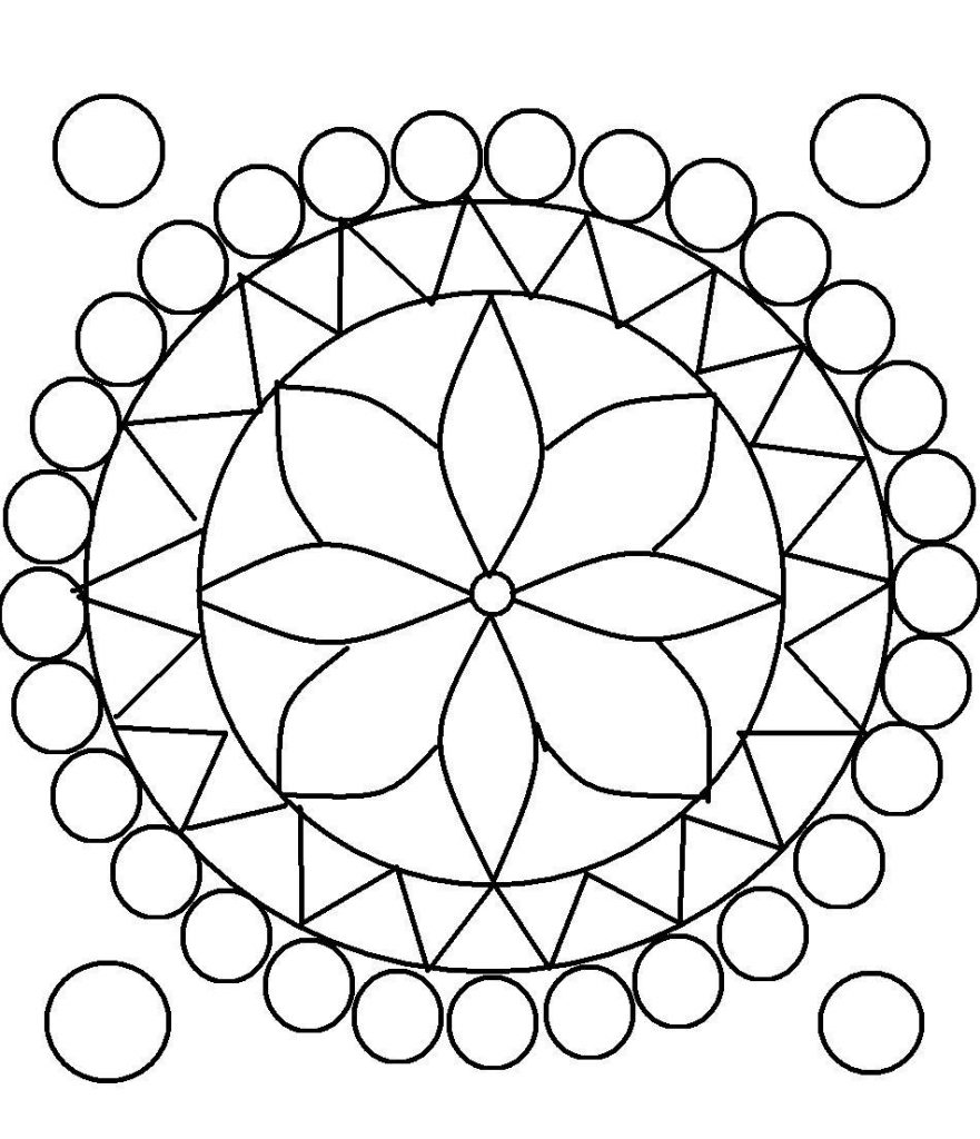 printable designs to color rangoli coloring pages to download and print for free designs to printable color
