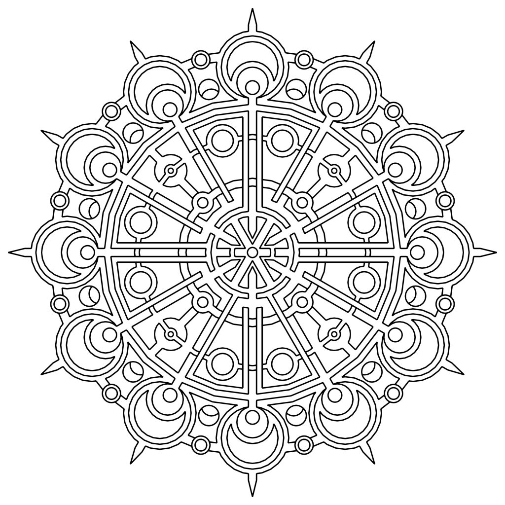 printable designs to color traditional islamic mosaic coloring page free printable to designs printable color