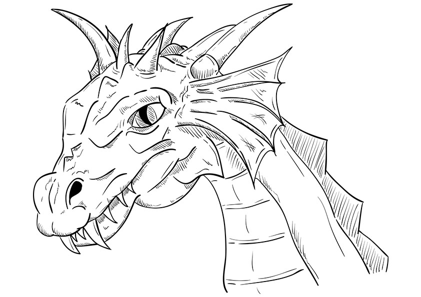 printable dragon pictures dragon coloring pages to download and print for free pictures dragon printable