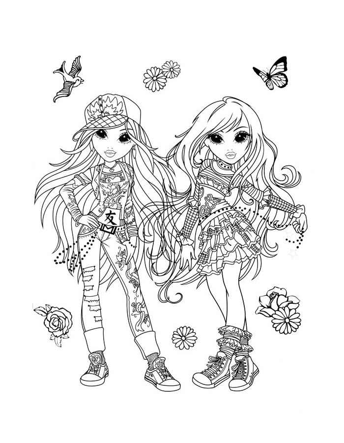 printable girl coloring pages moxie coloring pages for girls to print for free printable coloring girl pages