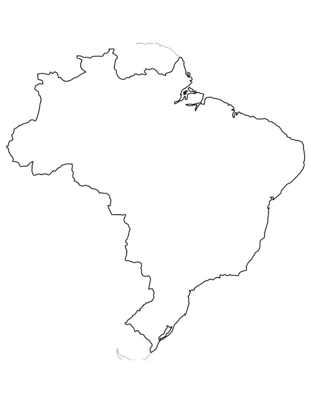 printable map of brazil color and learn geography spanish and more teaching of brazil map printable