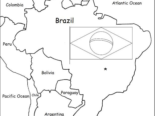 printable map of brazil outline map research activity 1 brazil printable brazil map of