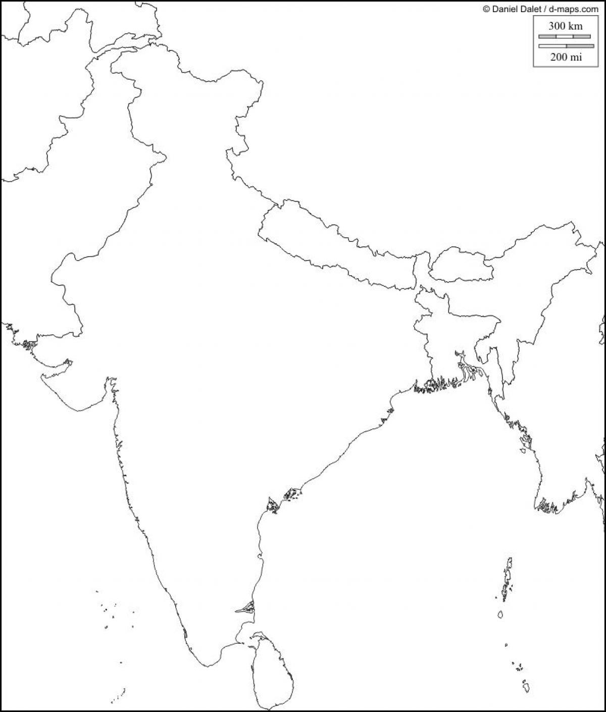 printable outline map of india blank map of india free printable maps printable outline map of india