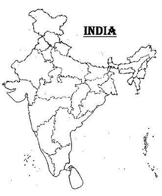 printable outline map of india download the blank india political map blank india map of outline india map printable