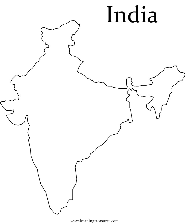 printable outline map of india india 2012 blank india map map india of outline printable