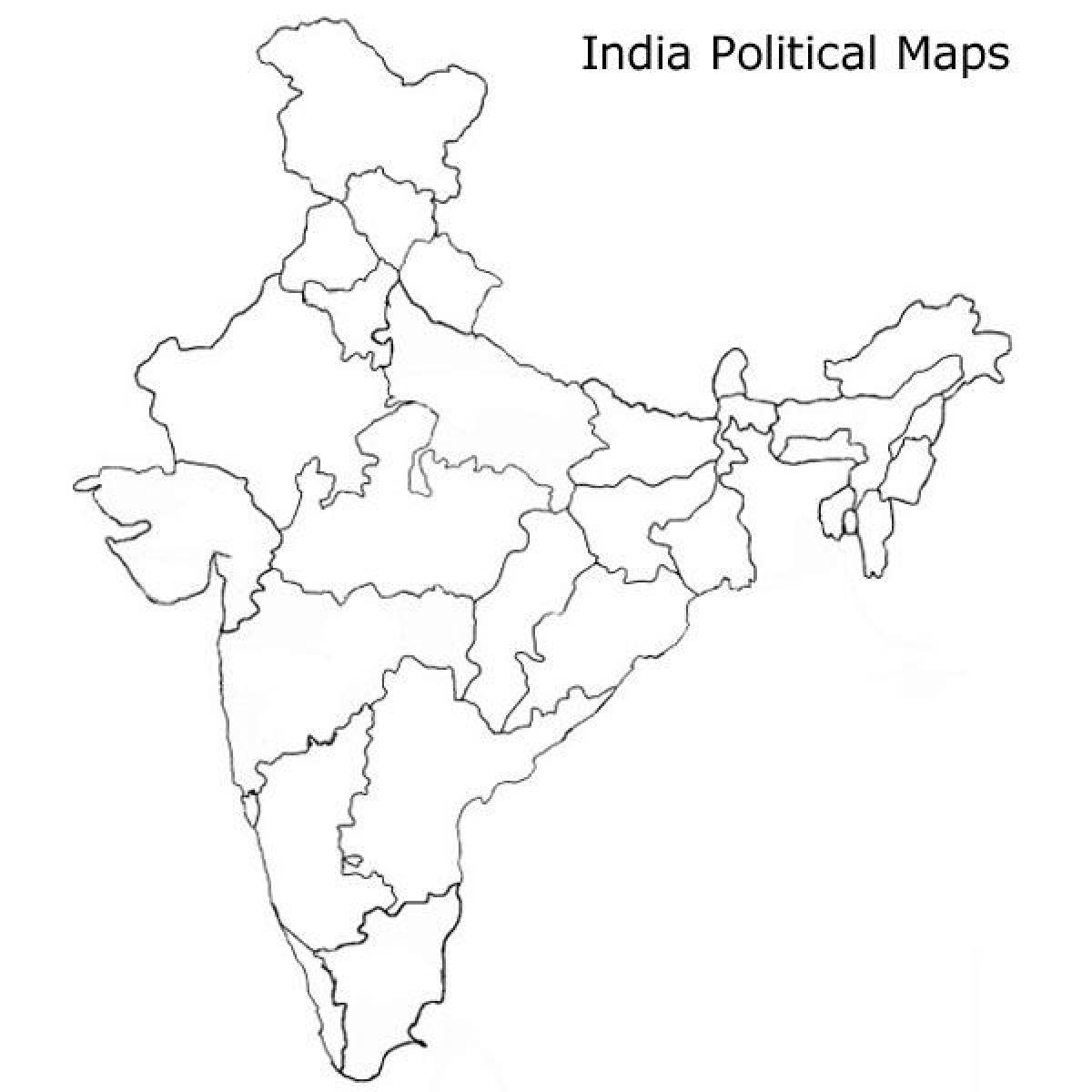 printable outline map of india india blank outline map coloring page free printable printable map of india outline