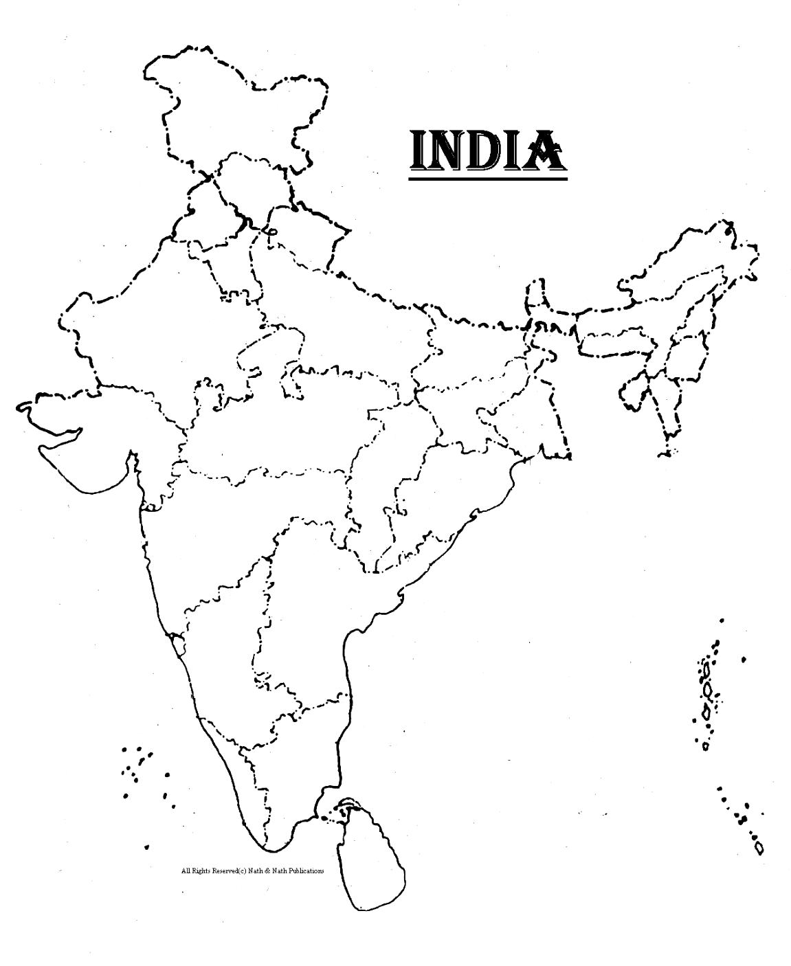 printable outline map of india india map silhouette free vector silhouettes india of outline printable map