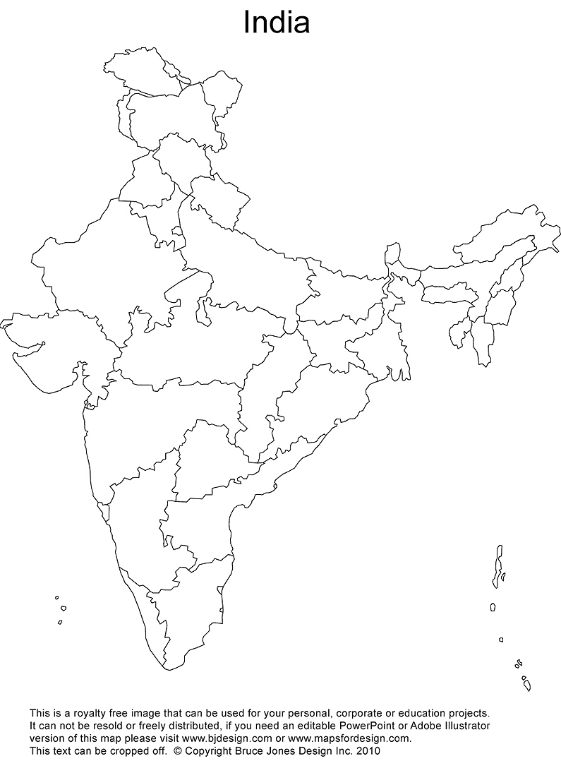 printable outline map of india physical map of india blank printable printable maps of printable map india outline