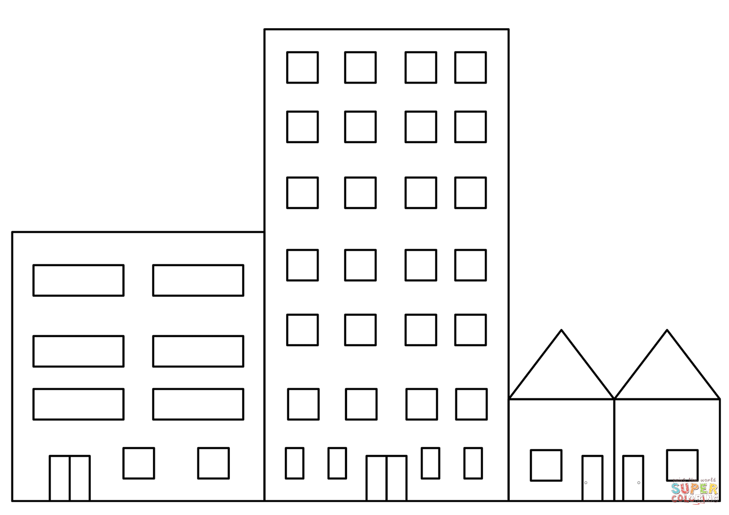 printable pictures of buildings building coloring pages to download and print for free printable pictures of buildings