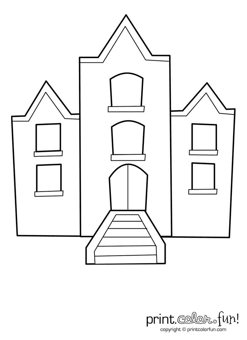 printable pictures of buildings city buildings coloring page free printable coloring pages of pictures printable buildings
