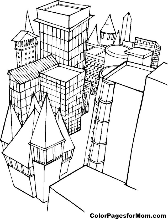 printable pictures of buildings download building coloring for free designlooter 2020 printable pictures of buildings