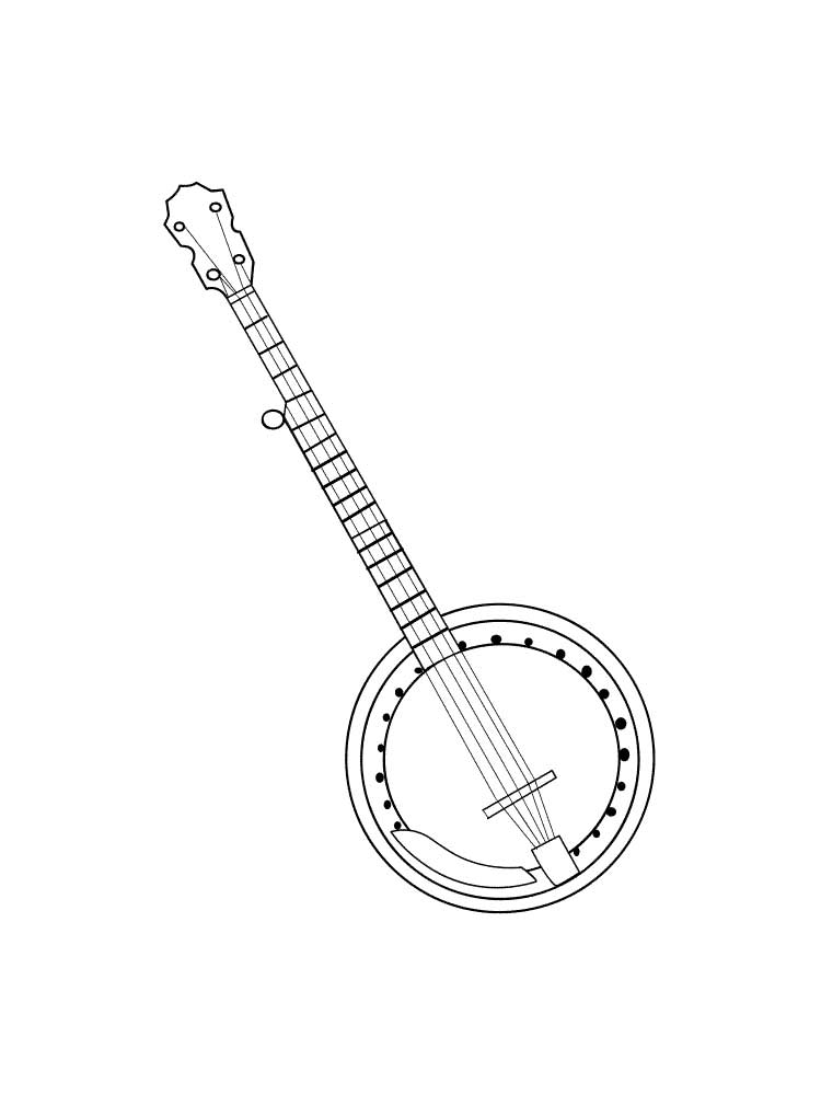 printable pictures of musical instruments musical instrument coloring pages download and print of instruments musical printable pictures
