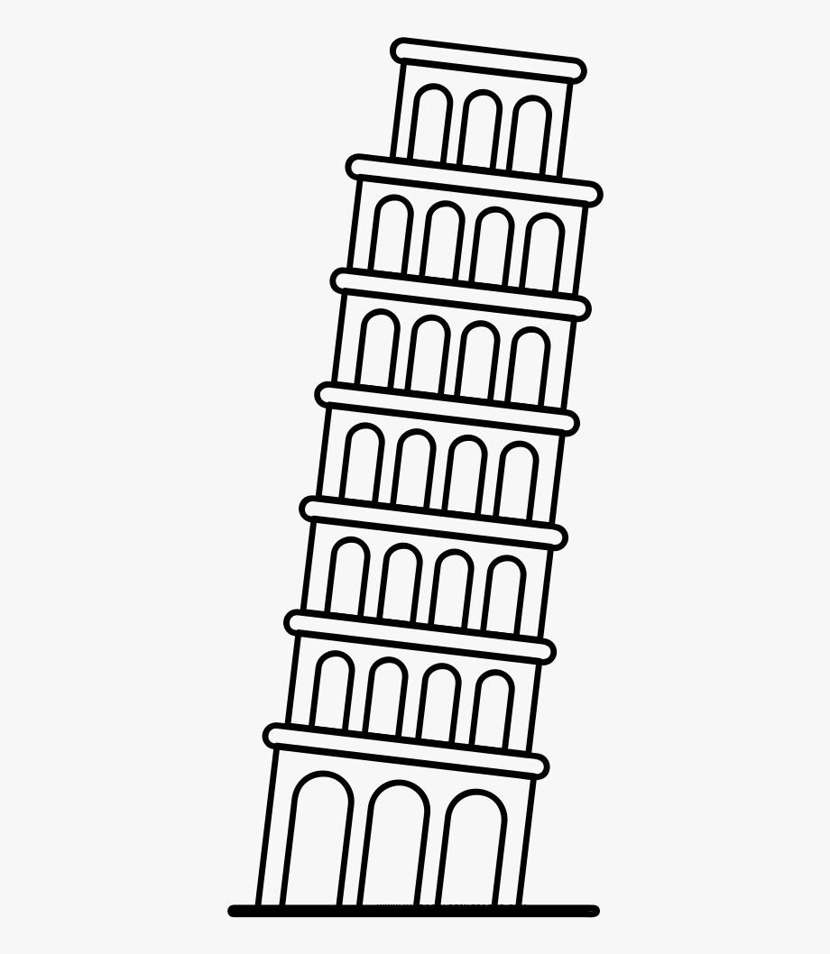 printable pictures of the leaning tower of pisa drawings of the leaning tower of pisa bing images pisa pisa tower leaning printable pictures the of of