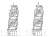 printable pictures of the leaning tower of pisa leaning tower of pisa clip art vector images pisa of the tower printable leaning of pictures