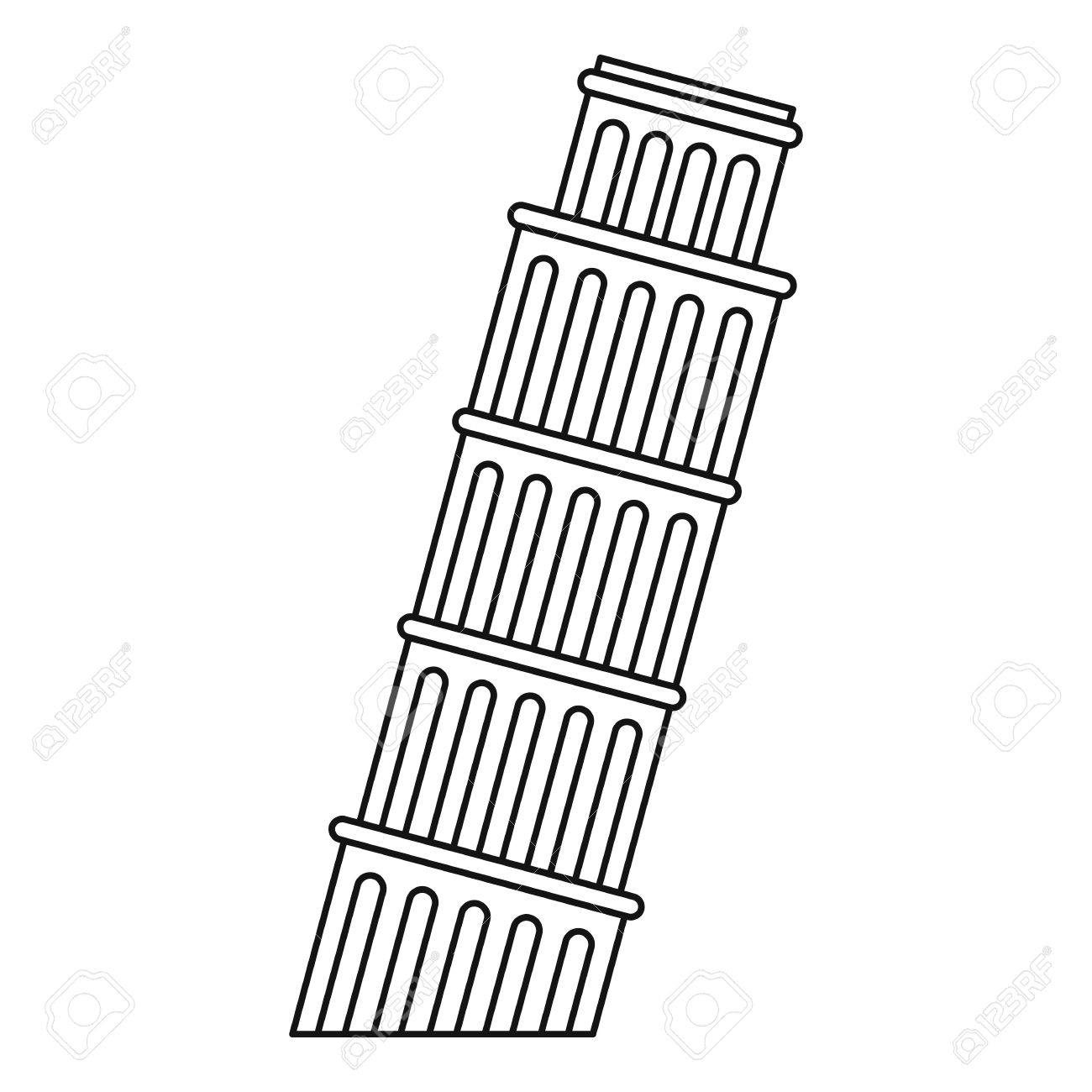 printable pictures of the leaning tower of pisa leaning tower of pisa silhouette clipart free pisa the printable of leaning of tower pictures