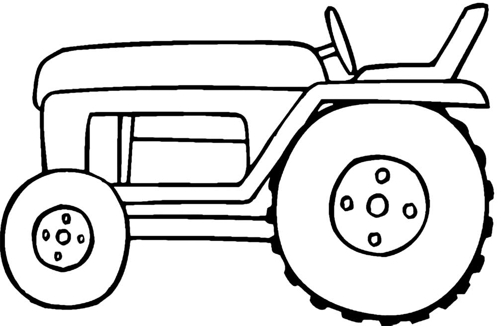 printable pictures of tractors rugged tractor coloring pages yescoloring free pictures printable tractors of