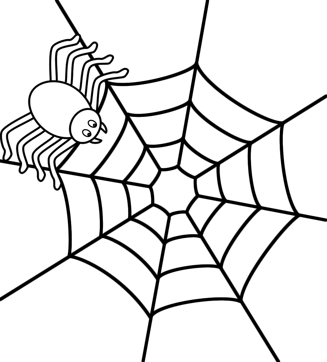 printable spiders halloween spider coloring pages at getcoloringscom free printable spiders