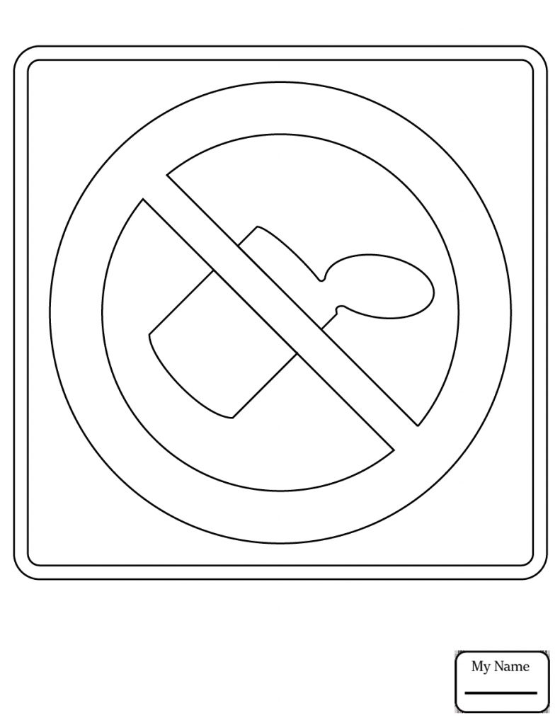 printable traffic signs coloring pages pedestrian crossing ahead a 16 coloring page free coloring traffic signs printable pages