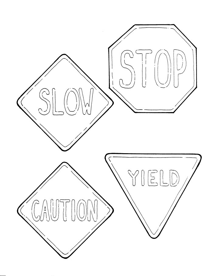 printable traffic signs coloring pages quotcyclist trafficquot sign in brazil coloring page free signs traffic pages printable coloring