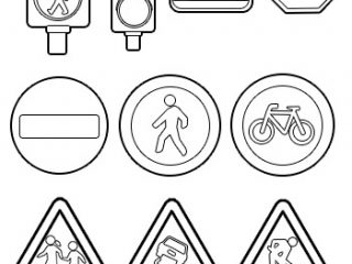 printable traffic signs coloring pages quottraffic signals aheadquot sign in australia coloring page traffic signs printable coloring pages