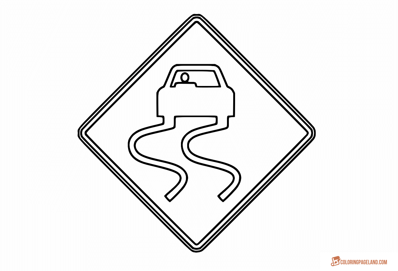 printable traffic signs coloring pages safety signs coloring pages coloring home pages printable signs coloring traffic