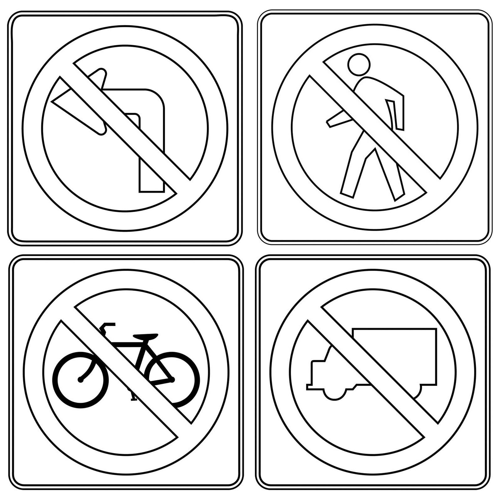 printable traffic signs coloring pages traffic sign coloring pages getcoloringpagescom signs traffic coloring printable pages