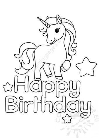 printable unicorn birthday coloring pages 55 best happy birthday coloring pages free printable pdfs pages printable coloring birthday unicorn