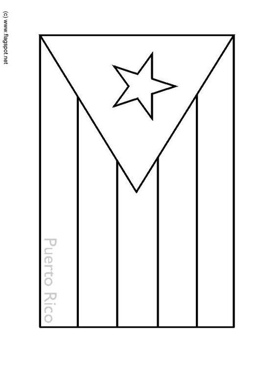 puerto rico flag to color coloring page flag puerto rico coloring picture flag puerto flag to color rico