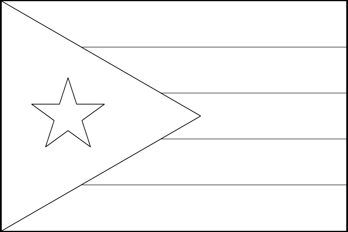 puerto rico flag to color coolest puerto rico flag coloring page httpcoloring rico color puerto to flag