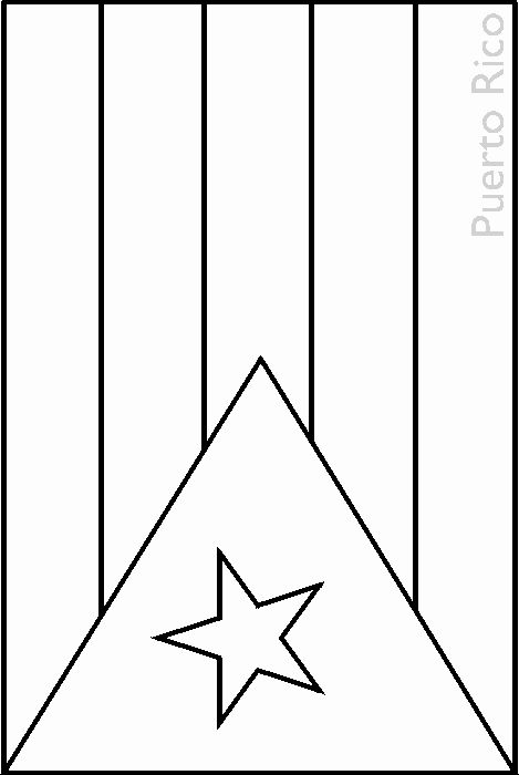 puerto rico flag to color puerto rican flag drawing at getdrawings free download rico flag puerto to color