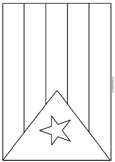 puerto rico flag to color puerto rico flag coloring page free printable puerto flag to rico color