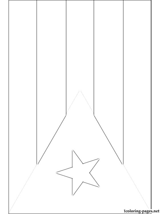 puerto rico flag to color puerto rico flag coloring page inspirational puerto rico puerto to rico color flag