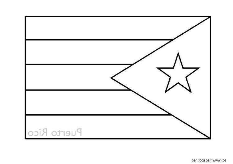 puerto rico flag to color stainedglassbutterflies free coloring pages flag of flag to color rico puerto