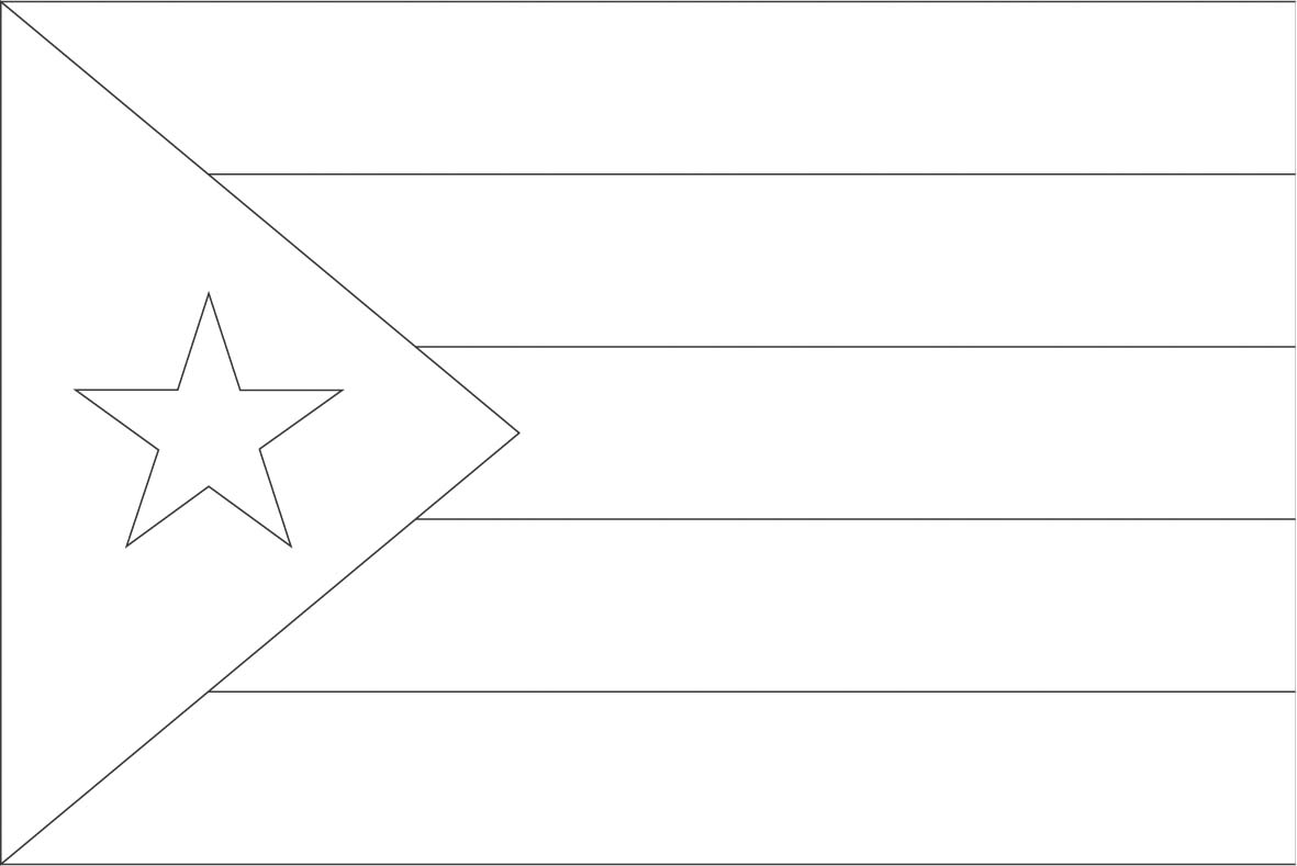 puerto rico flag to color world flags coloring sheets 6 flag rico to puerto color
