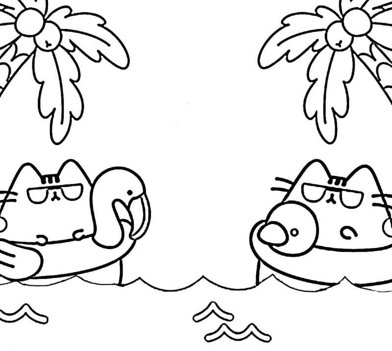pusheen the cat coloring pages cute coloring pages for kids pusheen cutedoggalery pages the pusheen cat coloring