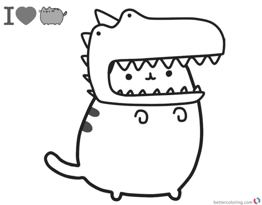 pusheen the cat coloring pages i love pusheen cat coloring pages free printable pusheen the coloring pages cat